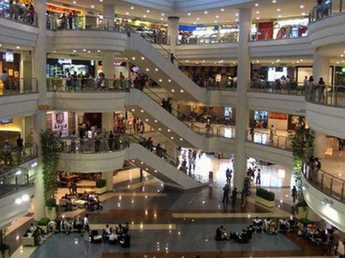 centro comercial en Manila