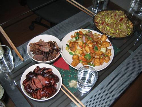 comida en Nanjing