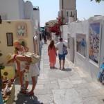 Compras en Santorini