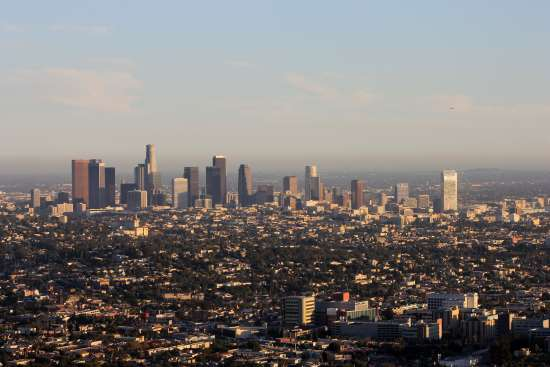 Vista de Los Angeles